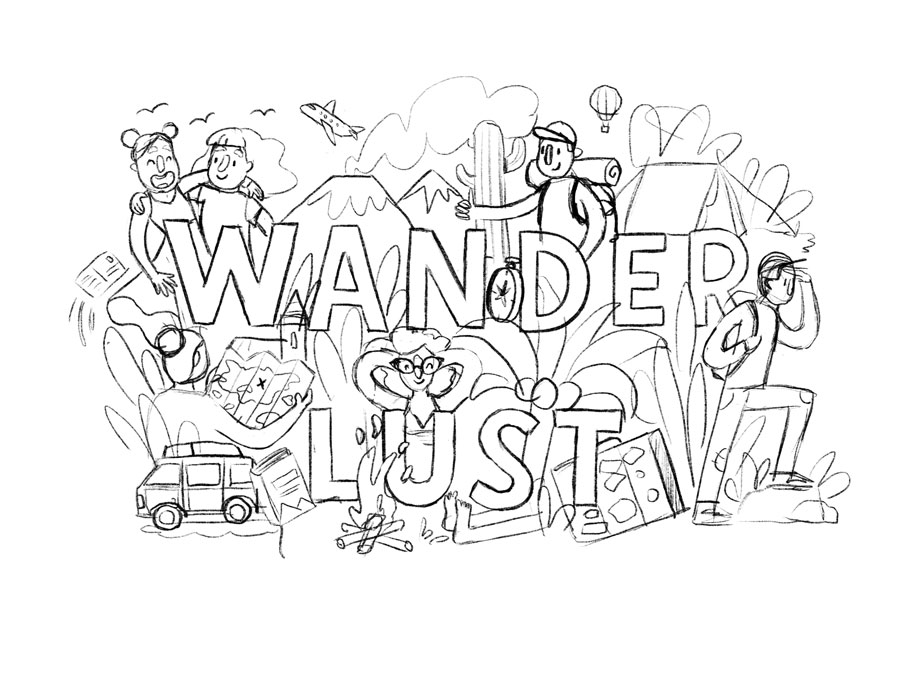 sketch wanderlust