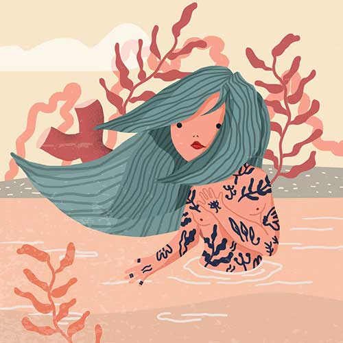 Mermaid by Barbara Dimić