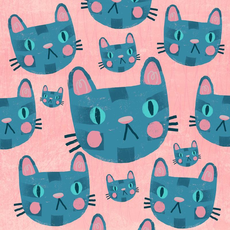Becca Lettice cat pattern