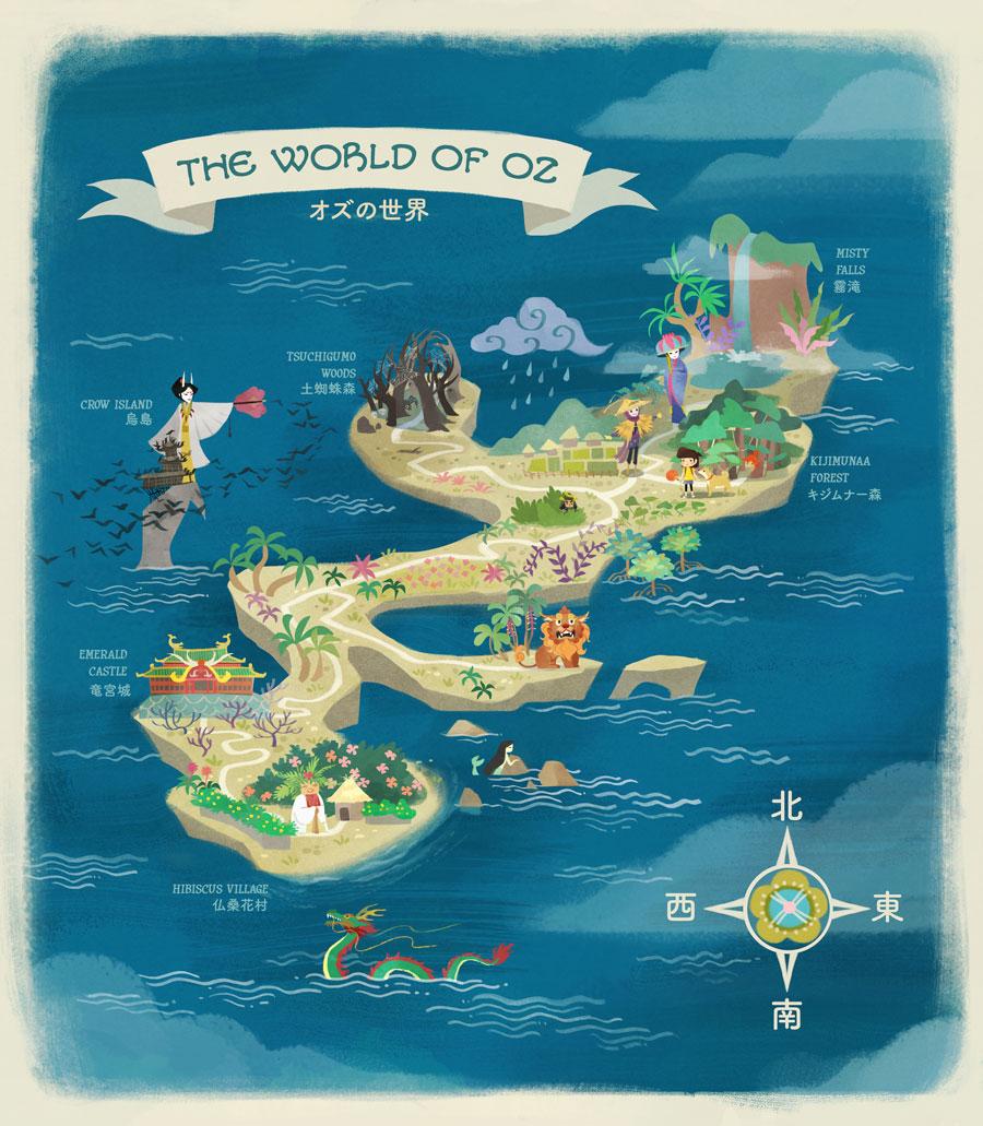 Nicole Lim map illustration