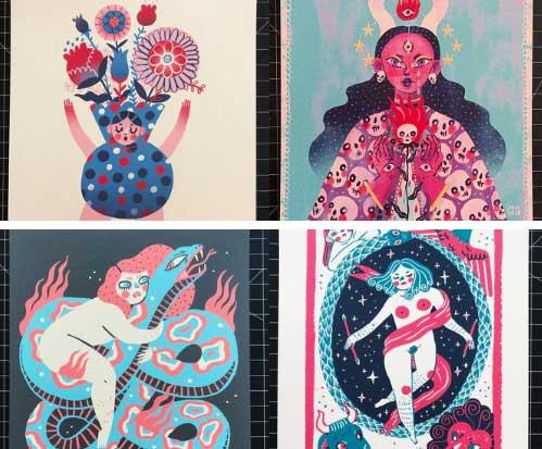 Sonia Lazo etsy prints