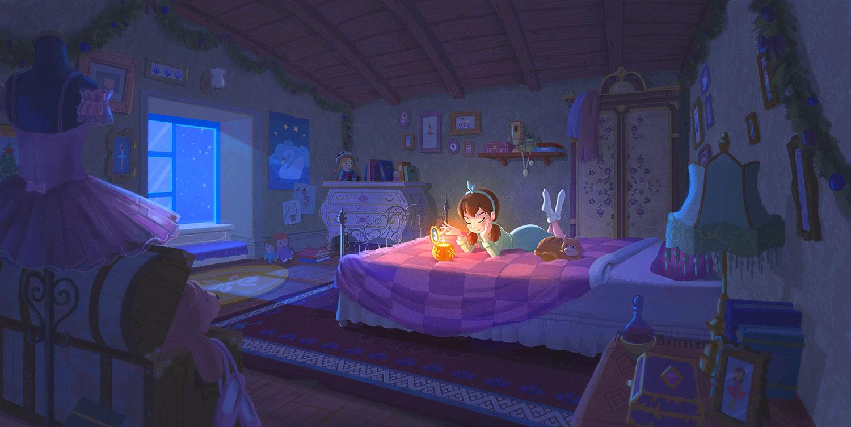 Nutcracker Dreaming illustration