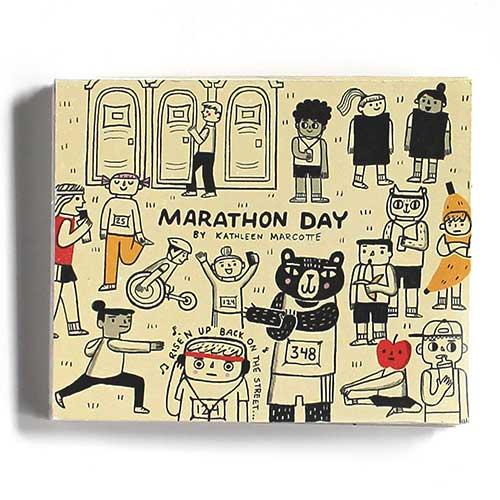 """""""Marathon Day"""" by Kathleen Marcotte"""