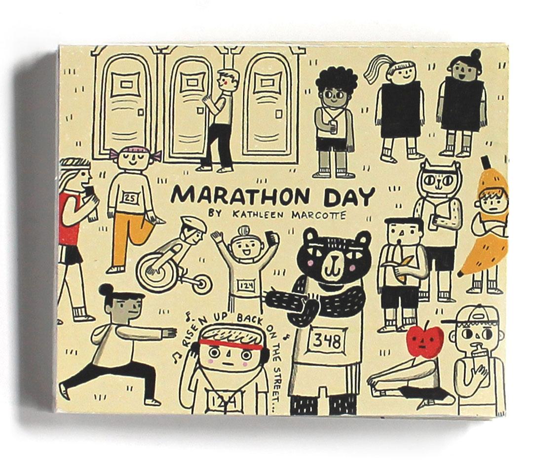 Marathonzine by Kathleen Marcotte