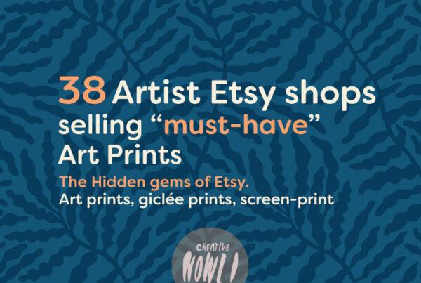 Etsy prints shops