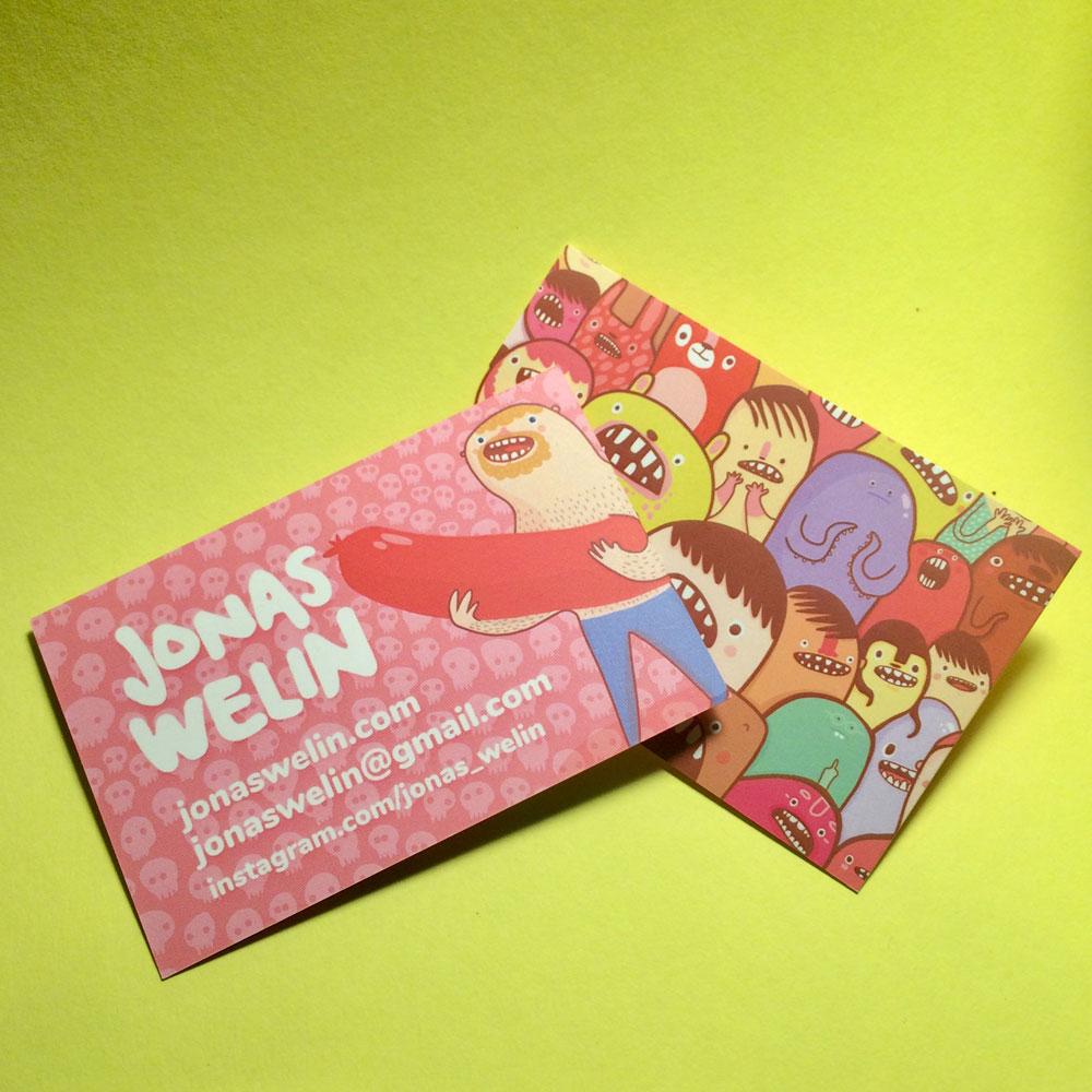 Business cards Jonas Welin