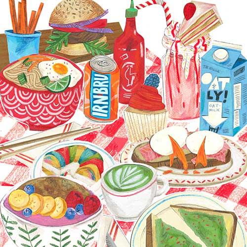 """2020 Vision"" illustration by Kaitlin Mechan"
