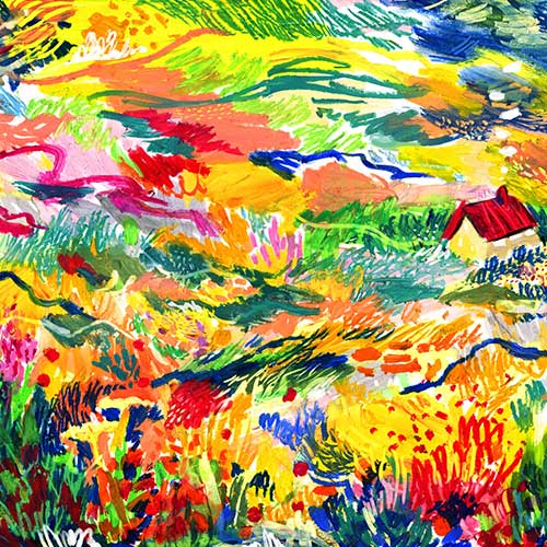 """Golden Fields"" by Isabella Fassler"