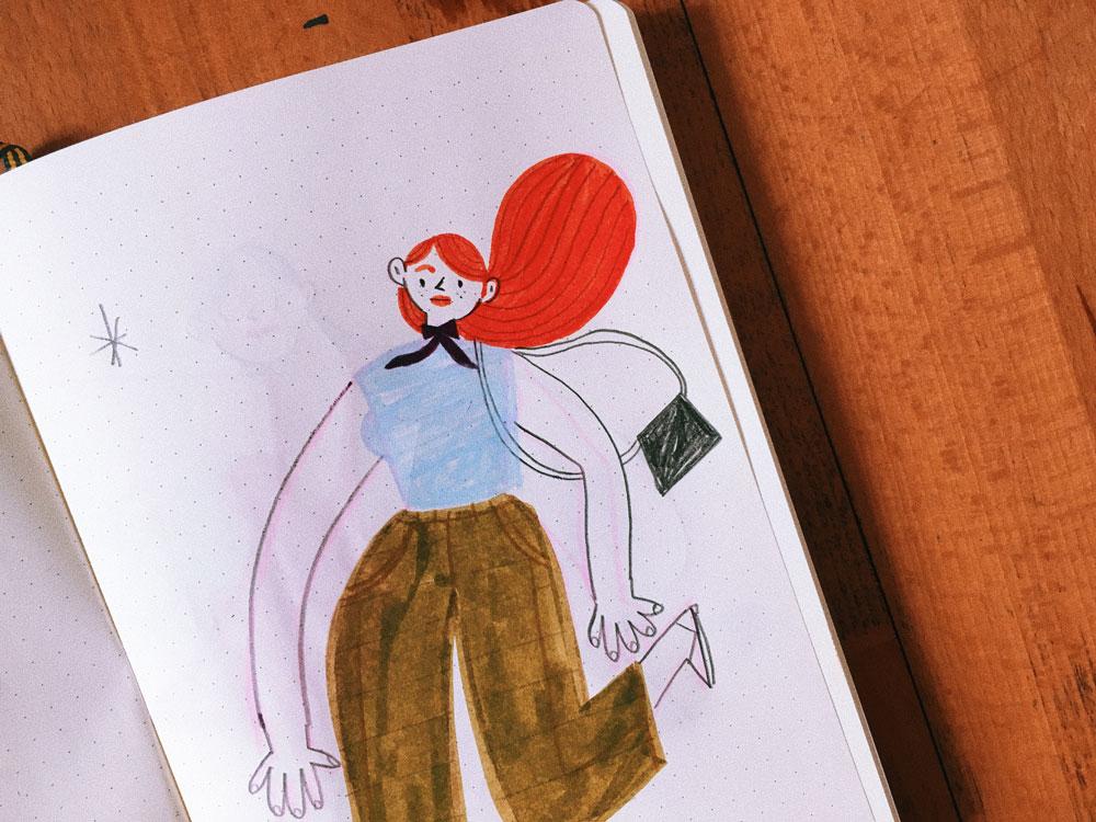 Rachel Katstaller drawing