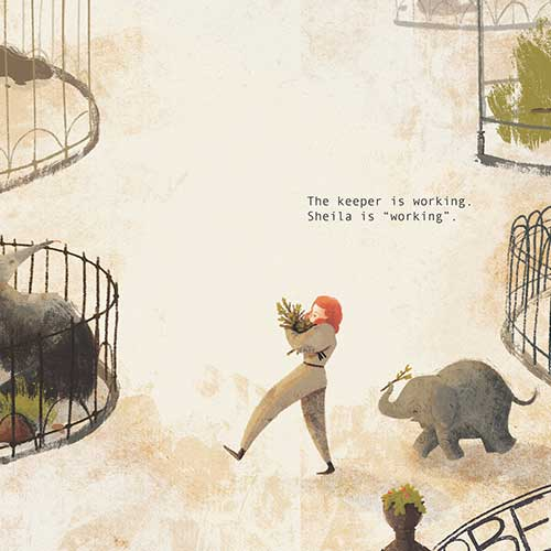 The Elephant, the Zoo and World War Two by Ellan Rankin