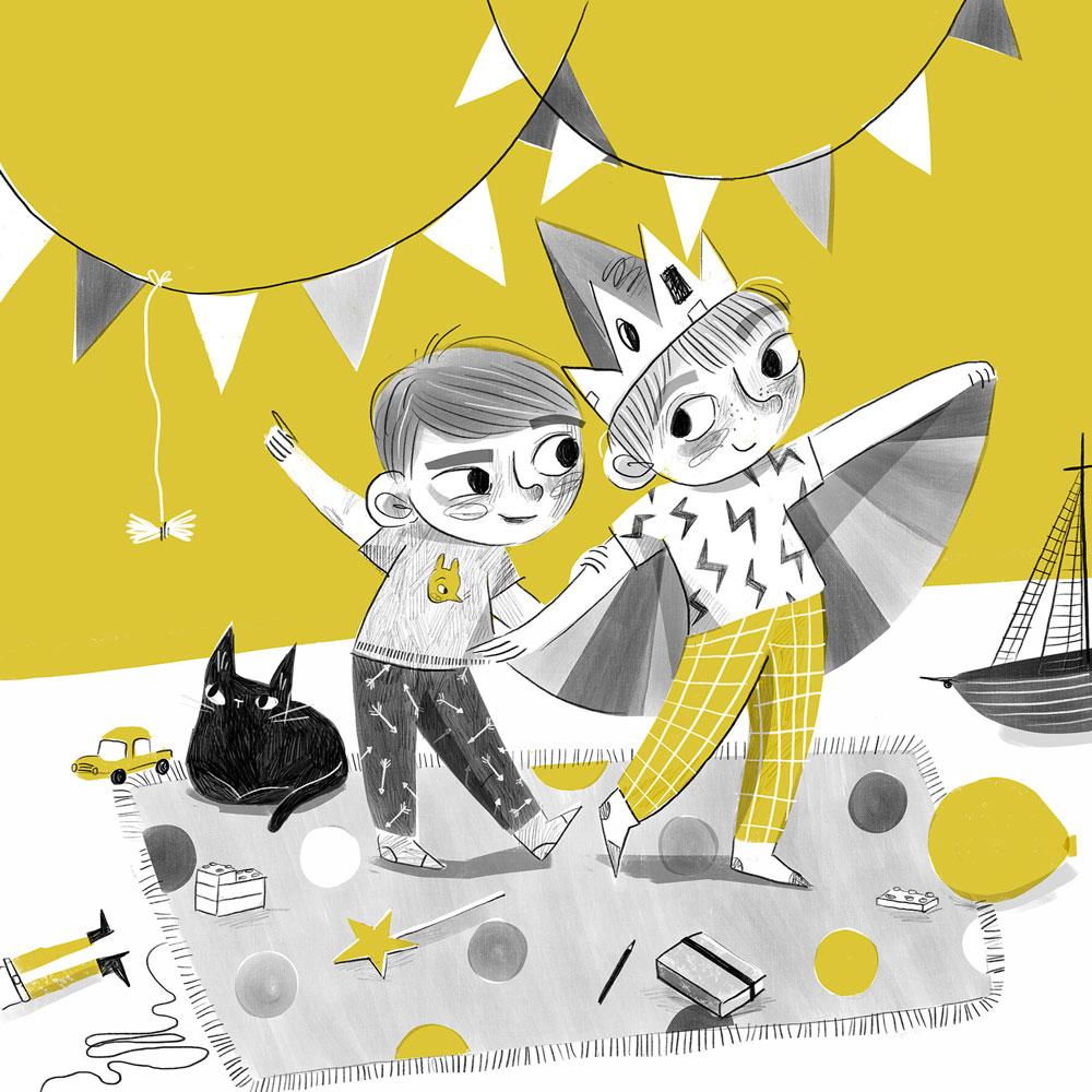 Home Schooling illustration