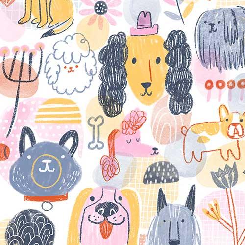 Doodle Dogs by Lauren Lowen