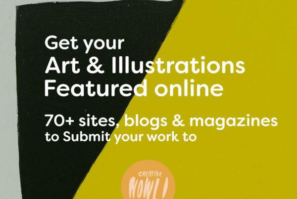 Get art & illustration featured online