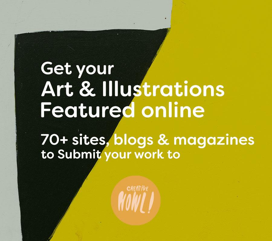 Get art & illustration featured online