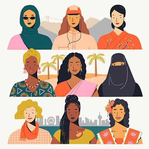 International Women's Day by Mijke Coebergh