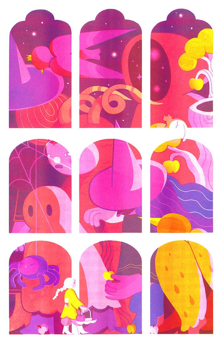 Wenting Li Equinox illustration