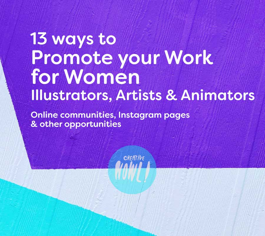 Promote your work for women artists