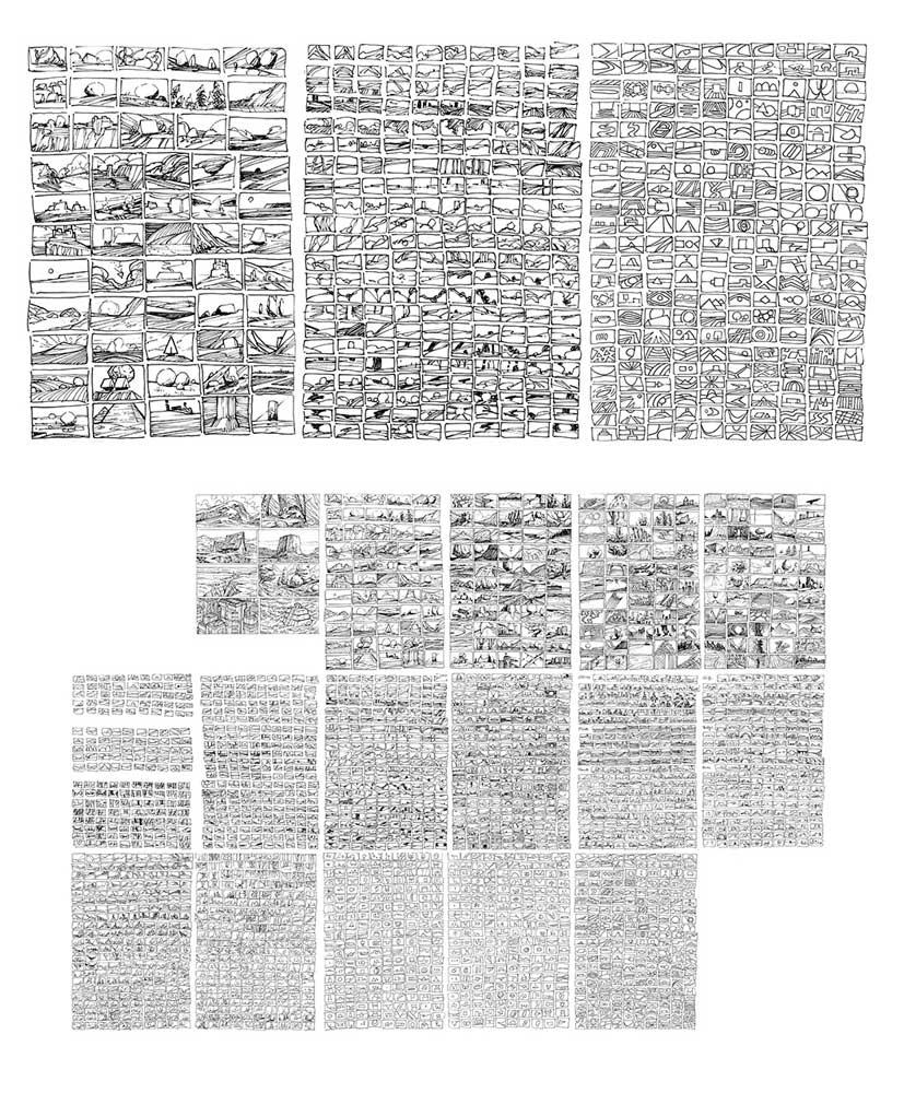 Ramón Springer sketches