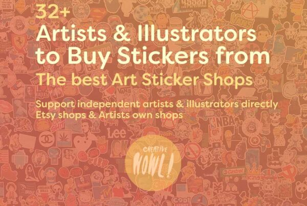 Buy stickers from artists & illustrators