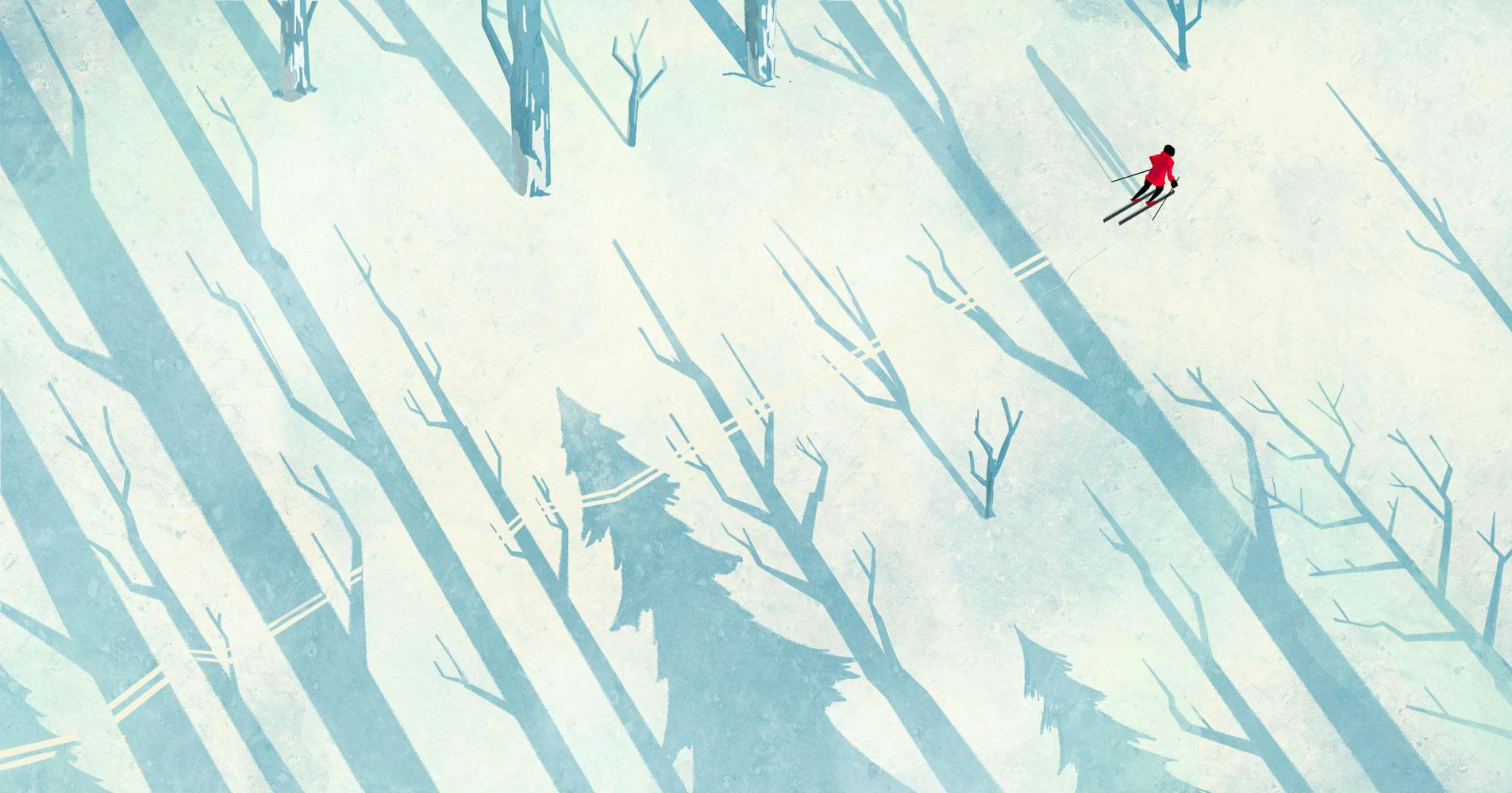 Jarred Briggs Winter calm illustration