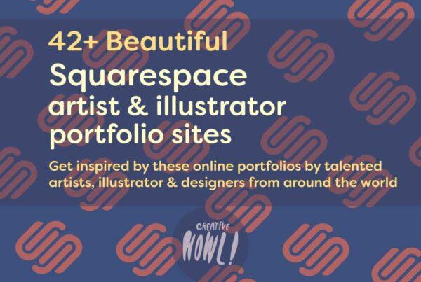 squarespace portfolio examples