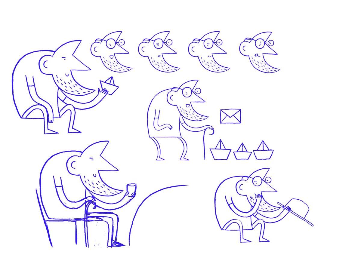 Giulia Martinelli concept sketch
