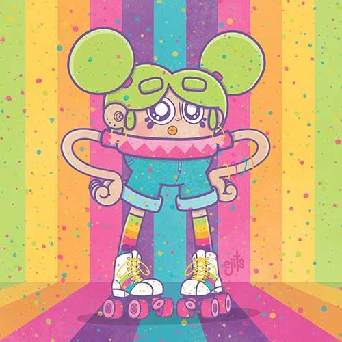 Roller Grrl by Ejits