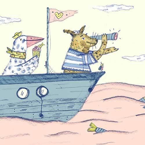 Juli Alvarez by Adventures by the sea