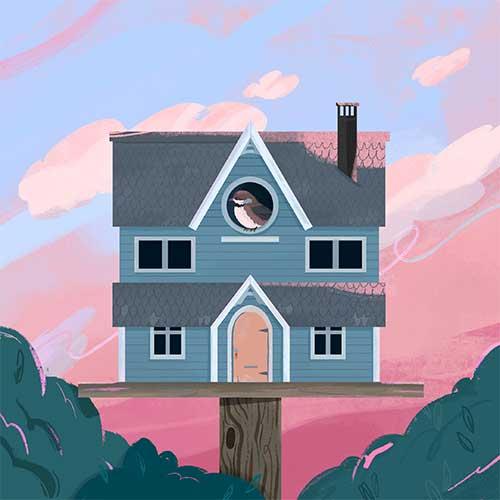 Dream Birdhouse by Julia Galotta