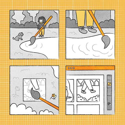 Four Steps to Adventure by Hatiye Garip